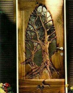 Handmade door