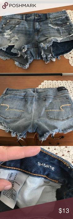 American Eagle jean stretch shorts American Eagle shorts American Eagle Outfitters Shorts Jean Shorts