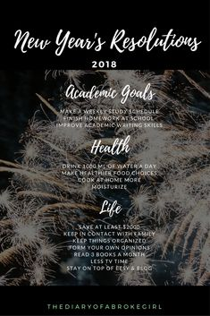 New Year's Resolutions #newyearsresolution #newyears #happynewyears #resolutions #goals #resolution