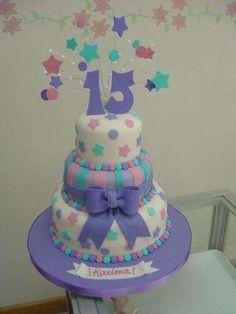tortas para 15 años                                                                                                                                                      Más