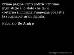 Cartolina con aforisma di Fabrizio De Andre (62)