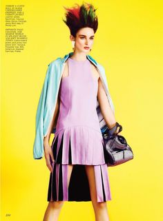 eve7 Eve by Max Abadian for Flare May 2012