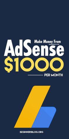 Way To Make Money, Make Money Online, Online Side Jobs, Own Business Ideas, Legitimate Online Jobs, Best Ads, Extra Money, Blogging, Internet