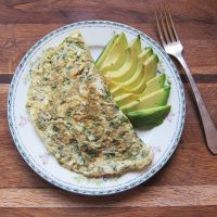Avocado and Herb Omelet - Dr. Mark Hyman