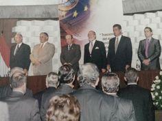 Conferencia sobre el EURO por Dn. Manuel Conthe el 5 de Febrero del 2002 en el Auditorio del Edificio de las Cámaras