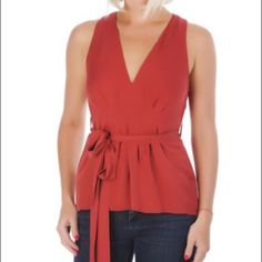 """NWT Gucci burnt orange silk top blouse Gucci deep/ burnt orange silk blouse with side zip. Brand new with tags. Bust: 16"""". Size is european 38 which is approx a size 2. Please make sure to check measurements. This top does not have any stretch. Retail is $899. ALL PRICES ARE FIRM. SORRY BUT ALL OFFERS WILL BE DECLINED. THANK YOU. Gucci Tops Blouses"""