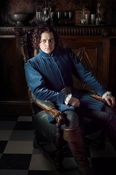 The White Queen / Aneurin Barnard as Richard Duke of Gloucester / Series Costume Design by Nic Ede (10 episodes, 2013).