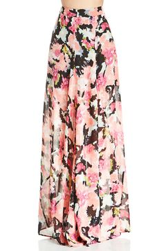 Flutter over floral! Princess Di Ballgown Skirt from Show Me Your Mumu features a gorgeous flower print, concealed side zipper closure, a slightly gauzy fabric, and partial lining. Add our Seamless Boyshort to perfect those hips. Style with a solid crop top and hi-top sneakers for a concert-ready ensemble.