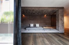 Cocoon bed | Alessandro Isola