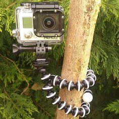 Gorilla-Pod-Camera-Tripod-with-GoPro-Mount-Accessory-Flexible-Grip-Bendy-Legs-UK