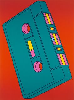 Michael Craig-Martin presents graphic depictions of three decades of electronic goods