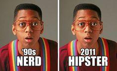 So true ~Steve Urkel Nerd/Hipster Steve Urkel, Hipsters, I Smile, Make Me Smile, Emo Pictures, Animal Pictures, Haha So True, Back In The 90s, I Love To Laugh