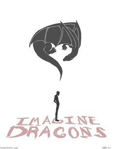 Resultado de imagen para imagine dragons logo