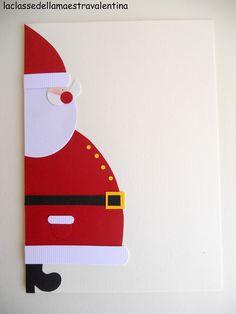 Che ci posso fare… Babbo Natale è il mio soggetto preferito… quindi , vi propongo nuovamente un Babbo Natale, ma di profilo, con tanto di ...