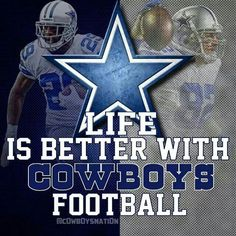 Life is better with Cowboys football! ☆