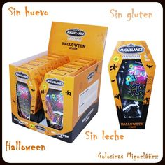 Halloween, Miguelañez, golosinas, gominolas, chocolates, sin leche, sin huevo, sin gluten