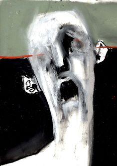 Creepy Art, Weird Art, Portrait Art, Portraits, Art Sketches, Art Drawings, Arte Peculiar, Arte Obscura, Arte Sketchbook