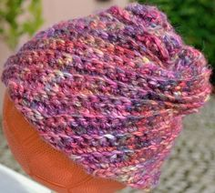 Crocheted Caps – Beanie Cap Crochet Hat Araucania Alpaca – a unique product by crossedcrafts on DaWanda