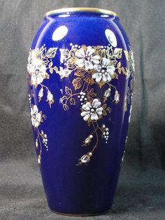 Small Old Porcelain Vase EN DE Signed Camille Tharaud Limoges Glazed Decors | eBay