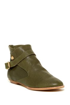 House of Harlow Hollie Ankle Boot - olive green