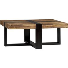 "$799 SeguroSqCoffeeTable3QF11    Seguro Square Coffee Table. 38""Wx38""Dx15.75""H  Reclaimed peroba wood, solid mahogany and engineered woodHand and machine madeNon-toxic, water-based adhesivesMahogany with ebony finishCan hold up to 80 lbs.Each piece is uniqueMade in Indonesia"
