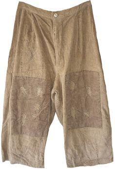 Magnolia Pearl: Grain sack corduroy French Work Pants