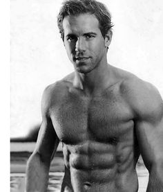 And I have gone totally gay over Ryan Reynolds. It's entirely possible that I am sick because I've gone totally gay over Ryan Reynolds, but I'm pretty sure it was the crappy dinner I ate. Ryan Reynolds Shirtless, Ryan Reynolds Age, Ryan Gosling Shirtless, Perfect People, Beautiful People, Perfect Man, Beautiful Boys, Perfect Body, Bonheur