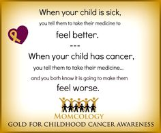 When your child is sick.........