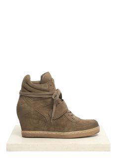 87ea516194b  Cool  suede wedge sneakers