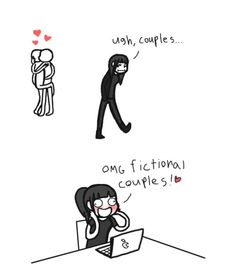 urgh couples....omg yay other couples in fiction~!