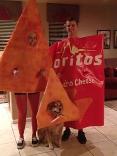 Doritos | 32 Ridiculously Clever Group Halloween Costumes