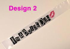 Bride To Be or I'm a bride to be, duh Sash for Mean Girls Theme Bachelorette Party- 3 choices Girls Party Decorations, Engagement Party Decorations, Bridal Shower Decorations, Bachelorette Party Themes, Bachlorette Party, Bridal Shower Party, Bridal Shower Invitations, Bridal Showers, Mean Girls Party