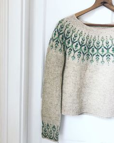 Eta: Newleaf Is Live And Off With Knitlovewool - Knitting - Best Knitting Fair Isle Knitting, Knitting Socks, Icelandic Sweaters, Knit Sweaters, Knit Picks, Modest Outfits, Cardigans For Women, Knit Crochet, Knitwear