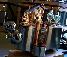 There really are no words for this.  Amazing seems an understatement for the look of this vacuum tube amplifier.