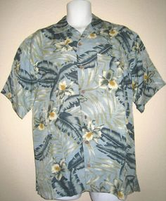 Tommy Bahama Shirt Mens Hawaiian Style Blue Button Up Short Sleeve Sz s 1459 $24.95. Accessorizing is very important for Your Personal Look! Island Heat Products www.islandheat.com today's clothing Fashions and Home Goods with Great Family Gift Idea's.