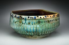Mark Knott pottery at MudFire Gallery