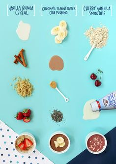 Who knew balanced nutrition could be so good! Here are three simple (and delicious) recipes to start the day off right! #StartWithBalance See Recipes: http://ov.coop/7rl