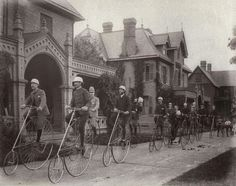 מועדון אופניים ״קנדל״ שנת 1884