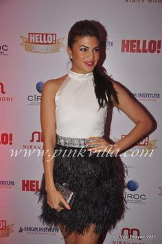 Jacqueline Fernandez at Hello Hall of Fame Awards Jacqueline Fernandez, Sequin Skirt, Awards, Angels, Hair Makeup, Dressing, Lips, Celebrities, Pretty