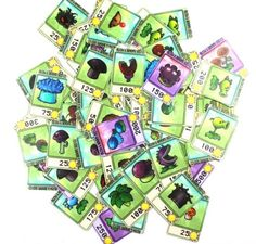 PLANTS VS ZOMBIES NOTEBOOK STICKER SUITCASE PENCIL BOX STICKER COMPLETE 48 PCS