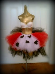 Adult tutu costume queen of hearts adult tutu dress by TutuHot
