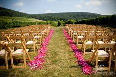 Breaux vineyards weddings