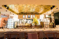 DIE GUTE BOTSCHAFT. Dein Event bei uns. Schreib uns eine Mail an info@dgb.hamburg Restaurant Hamburg, Table Decorations, Furniture, Home Decor, Veggie Food, Decoration Home, Room Decor, Home Furnishings, Home Interior Design