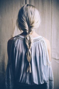 Easy Hair Trick: How to Fake A Fishtail Braid | Free People Blog #freepeople