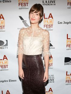 Mary Elizabeth Winstead at Awards Brunch for the 2013 Los Angeles Film Festival, June Mary Elizabeth Winstead, Carolina Do Norte, There's Something About Mary, Liberian Girl, Star Goddess, Beautiful Brown Eyes, Leather Dresses, Beautiful Celebrities, Beautiful Actresses