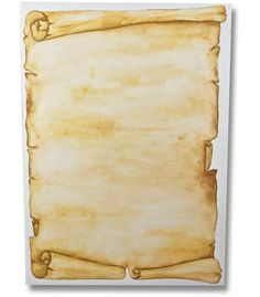 Antique scroll for pirate theme