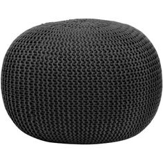 Urban Shop Round Knit Pouf, Multiple Colors, I would like to get 3 of these for Joey room!