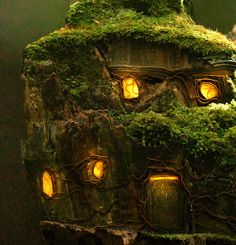 Fairy house. Phil McDarby / Digital Art / An Encounter at Greenspindle