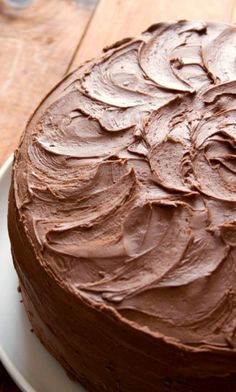 The Best Chocolate Cake – chocolate cake perfection! You won't believe how easy it is to make!!!