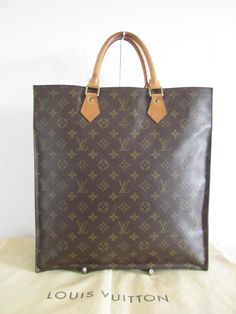 00d1177c001c Louis Vuitton Sac Plat Gm Monogram Tote Bag. Get one of the hottest styles  of